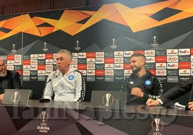Napoli-Zurigo, il programma delle conferenze stampa e degli allenamenti