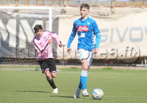 Under 15, il Napoli ai quarti di finale affronterà la vincente di Palermo-Perugia