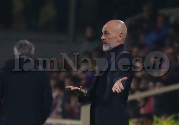 """Fiorentina, Pioli: """"Sono soddisfatto della prestazione della mia squadra, mi è piaciuto l'atteggiamento"""""""