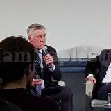 """Carlo Ancelotti alla LUISS: """"Sono stato al Milan per 8 anni ma adesso voglio battere questo record con il Napoli!"""""""