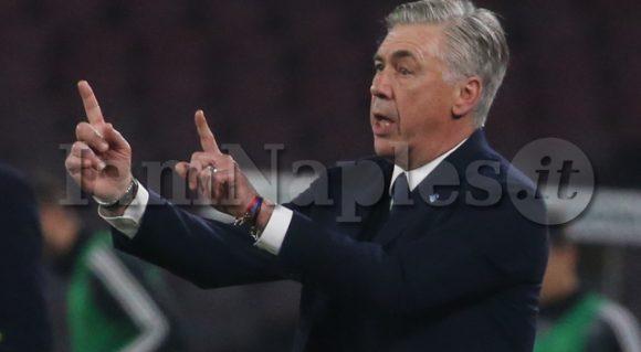 """Ancelotti a Sky: """"Non cambia molto questa sconfitta. Mercato? Ma quali 60 nomi. Su Quagliarella dico che…"""""""