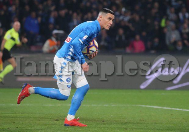 """Napoli, la radio ufficiale: """"A breve accordo con Callejon per il rinnovo"""""""