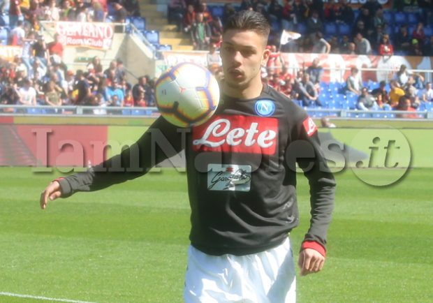 """Gaetano, l'entourage: """"Il ragazzo ha fatto molto bene, collaboreremo con il Napoli per trovare la miglior soluzione"""""""