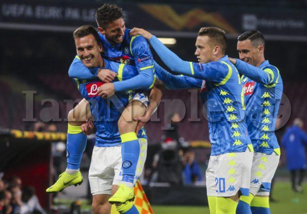 Il Napoli stacca il pass per i quarti di EL: è la seconda volta nella storia del club