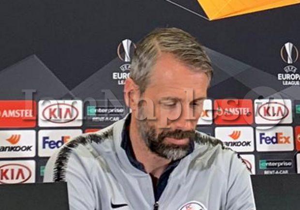 """Rose: """"Auguro al Napoli di vincere l'Europa League, può farcela"""""""