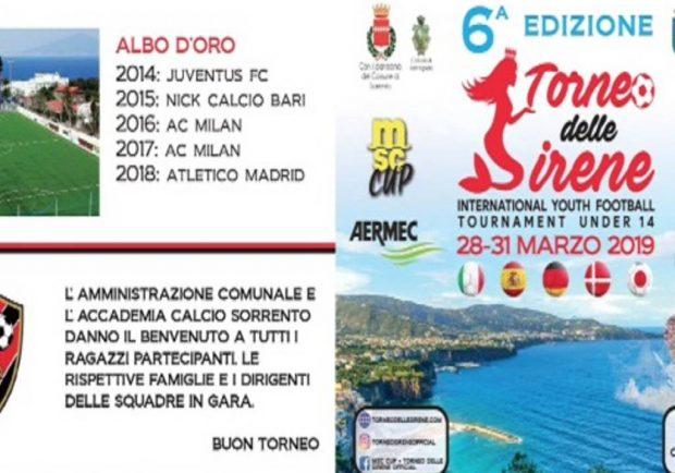 Torneo Delle Sirene, Msc Cup (28-31 marzo) – Sorteggiati gironi e calendario