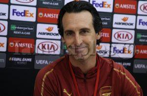 """Emery: """"Abbiamo meritato di qualificarci perchè abbiamo avuto rispetto del Napoli"""""""