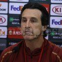"""Emery: """"Napoli grande squadra, mi aspettavo un match difficile"""""""