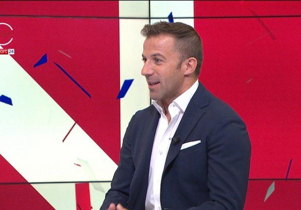 """Del Piero: """"Milik contro l'Arsenal deve giocare, serve un gol nei primi 15′"""""""