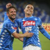 """SSC Napoli: """"Gli azzurri salutano il San Paolo con quattro abbracci"""""""