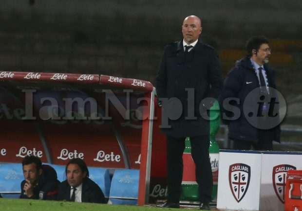 "Cagliari, Maran: ""C'è tanta tensione, in altri momenti l'avremmo vinta"""