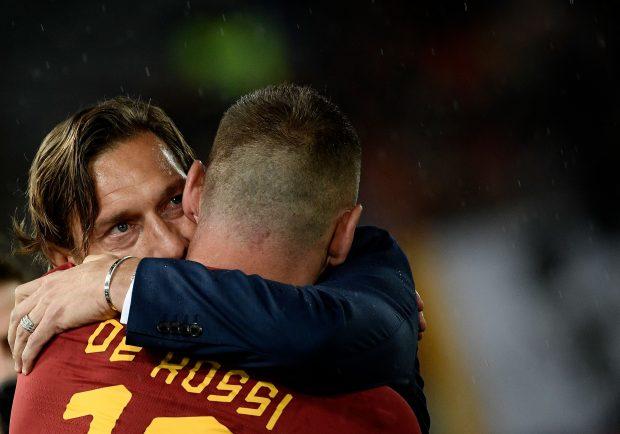 """Burdisso: """"Totti vuole venire a vedere Boca-River"""""""