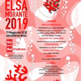 PREMIO ELSA MORANTE 2019: IL PROGRAMMA