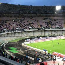 Media spettatori allo stadio, il Napoli è al settimo posto