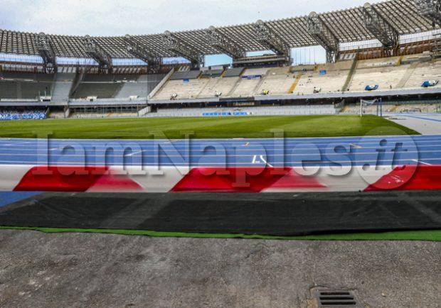 CdS – Napoli-Sampdoria, previsti oltre 35 mila spettatori al San Paolo