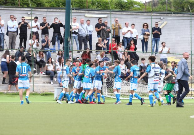 Under 15, vittoria 3-0 del Napoli sulla Cavese