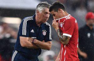 As – L'Adidas e Ancelotti possono portare James al Napoli