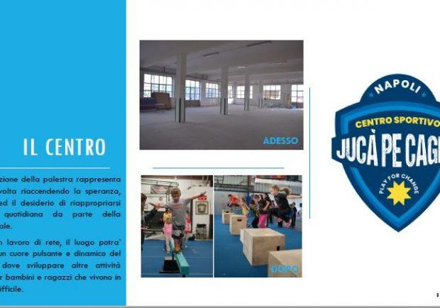 Lancio del primo centro sportivo alla Sanità per i bambini e giovani del quartiere