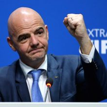 """Presidente FIFA, Infantino: """"Mio cuore italiano lacerato dalla sofferenza"""""""