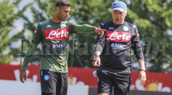 """SSC Napoli: """"Tornano in gruppo Ghoulam e Manolas. Differenziato per Allan"""""""