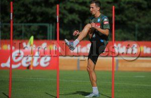 """Ssc Napoli, il report da Castelvolturno: """"Ancora a parte Milik: il polacco si allena in palestra"""""""