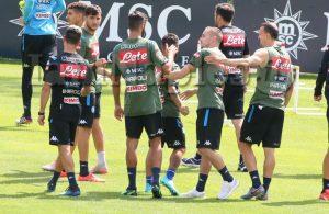 Dimaro, Rog lascia il ritiro azzurro  per raggiungere il Cagliari a Pejo