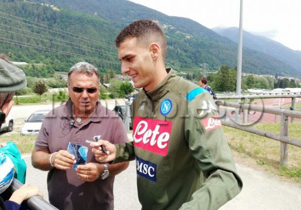 """Sgarbi: """"Quando arrivò la chiamata del Napoli non ho esitato. E' un club eccezionale"""""""