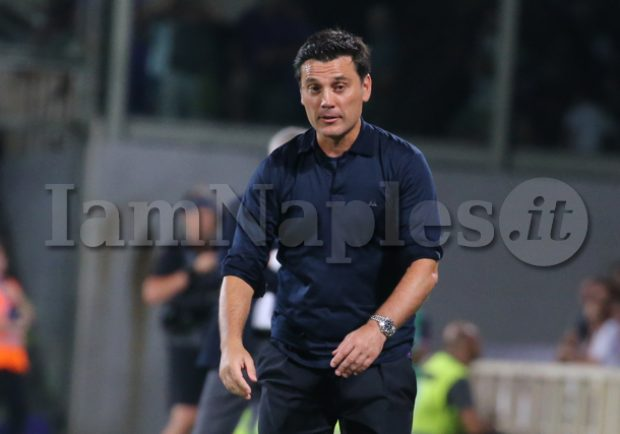 """Fiorentina, Montella: """"Il Napoli deve trovare equilibrio, quest'anno è più vicino alla Juve"""""""