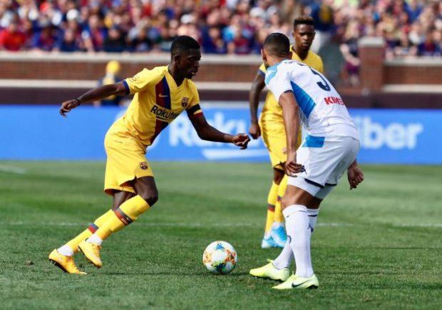 Barcellona, oggi il comunicato su Dembélé: blaugrana su Angel per sostituirlo