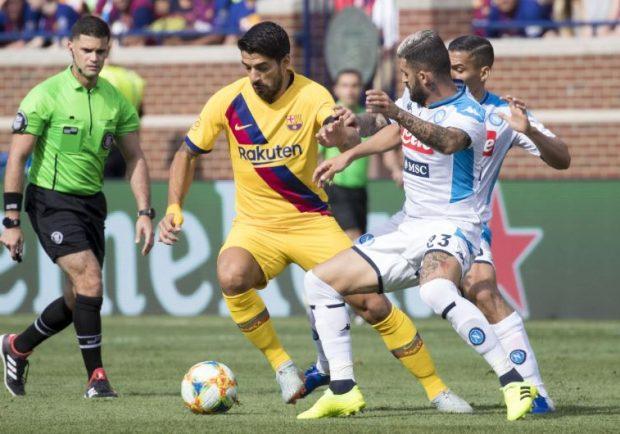 """DAZN, Callegari: """"Napoli, bisogna vincere in casa e andare in trincea al Camp Nou"""""""