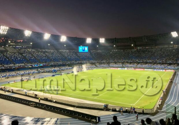 Napoli-Inter, in 4 ore già finita la Curva B ed in esaurimento i Distinti