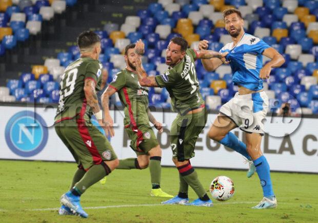 Cagliari-Napoli, vendita procede spedita: acquistati oltre 2mila biglietti in due giorni