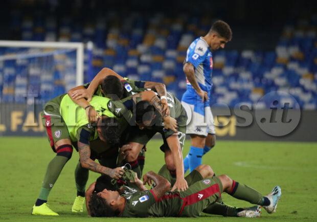 Serie A, Cagliari-Sampdoria 4-3: vittoria all'ultimo respiro per i sardi