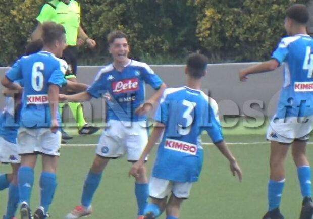VIDEO IAMNAPLES.IT – Under 15, Napoli-Crotone 3-0: gli highlights del match