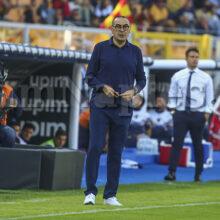 """Juve, Sarri: """"Squadra in crescita, ci sta soffrire. Chiellini? Rientro non a breve"""""""