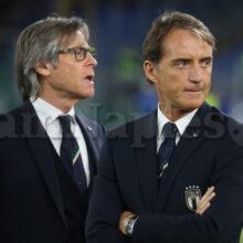 """Italia, Mancini: """"Bella serata, non si fanno nove gol a caso. Dato tutto"""""""