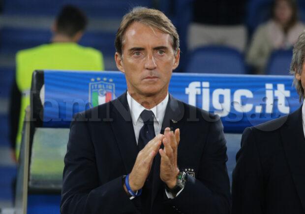 """Italia, Mancini: """"Lotta scudetto? Dispiace non vedere il Napoli"""""""