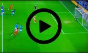 VIDEO – Salisburgo-Napoli 1-1, il pareggio di Haland su rigore