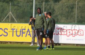 """SSC Napoli: """"Per Koulibaly sospetto stiramento al bicipite femorale destro"""""""