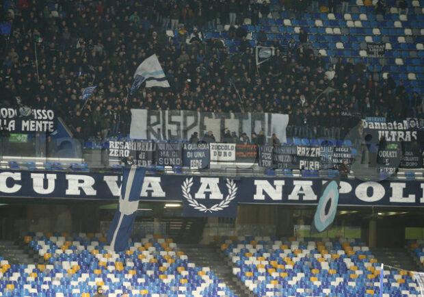 Napoli-Juve: verso l'esaurimento anche Distinti superiori, Tribune e Curva A