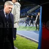 """Ancelotti: """"Non mi dimetto, domani incontro De Laurentiis. Sabato spero di esserci. Girone Champions fatto con coraggio"""""""