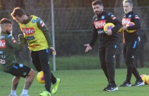 Napoli-Parma, il report della seduta pomeridiana e i convocati di Gattuso: out Ghoulam e Tonelli