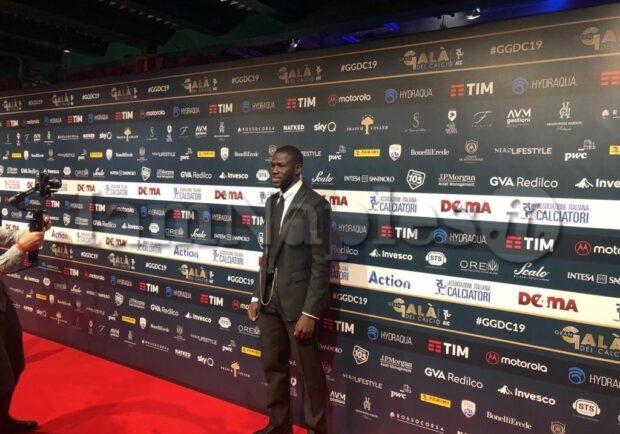 Galà del calcio, Koulibaly premiato tra i miglior difensori
