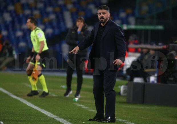 """Il Corr Sera su Gattuso: """"Contro l'Inter ha fatto bene a schierare il Napoli da provinciale"""""""