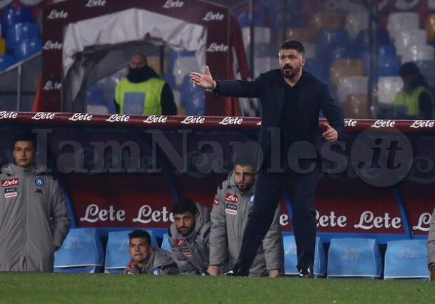 """Otto punti in rimonta con Gattuso, il Napoli ha imparato ad essere """"operaio"""""""
