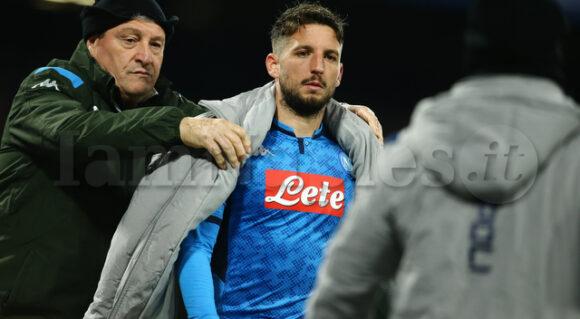 """SSC Napoli: """"Per Mertens terapie e palestra. Lavoro in campo per Koulibaly"""""""
