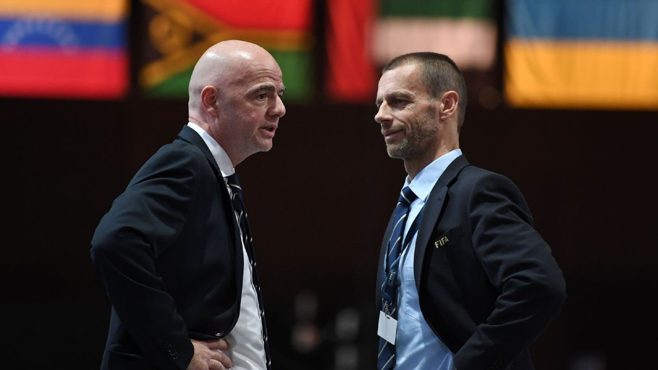 UEFA e CONMEBOL, un'alleanza per contrastare il grande potere della FIFA