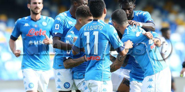 during the Serie A  football match SSC Napoli vs Atalanta BC
