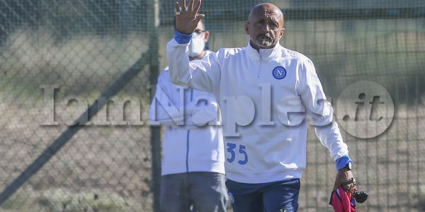 during training the day before the europa league match SSC Napoli - Legia Warsaw, at the Konami training center Castel Volturno, Caserta, southern Italy, on October 20, 2021.