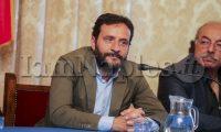 Incontro a Palazzo San Giacomo del Napoli Basket con l'assessore Borriello (Antonio Balasco)